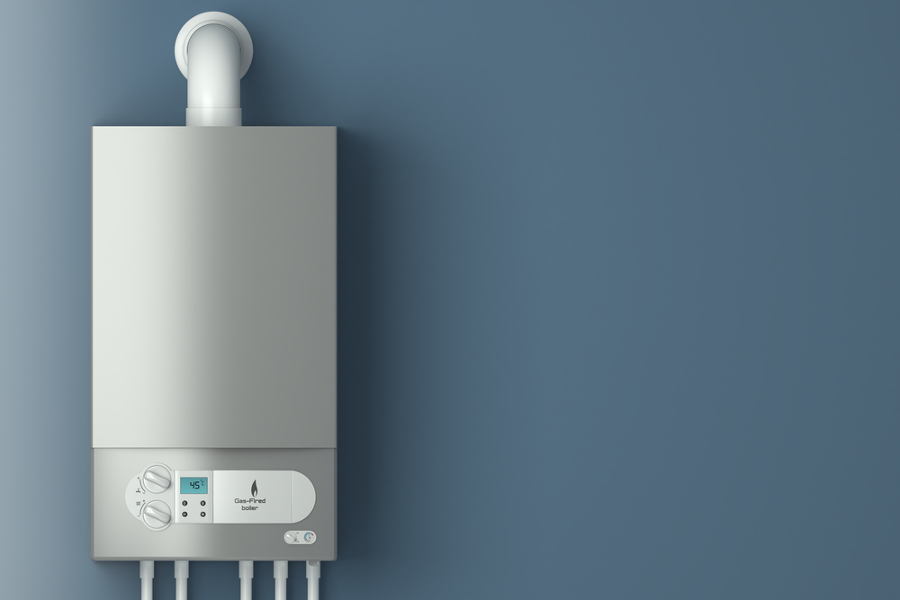 Gas Heating System From Oil to Gas Conversion